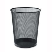YBM Home Stainless Steel 4.8 Gallon Waste Basket