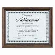 DAX MANUFACTURING INC. Antique Colored Document Metal Frame w/ Certificate, 8.5'' x 11''