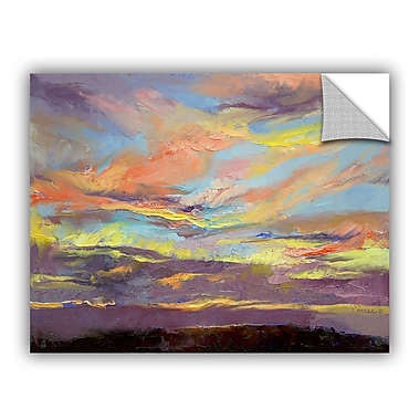 ArtWall ArtApeelz Atahualpa Sunset by Michael Creese Painting Print on Canvas
