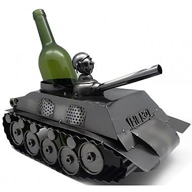 Three Star Tank 1 Bottle Tabletop Wine Rack