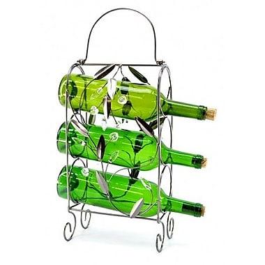 Wine Bodies 3 Bottle Tabletop Wine Rack