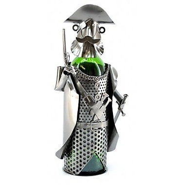 Three Star Pirate 1 Bottle Tabletop Wine Rack