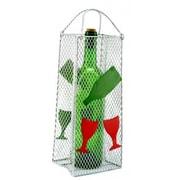 Three Star Gift Bag, Wine Glass 1 Bottle Tabletop Wine Rack