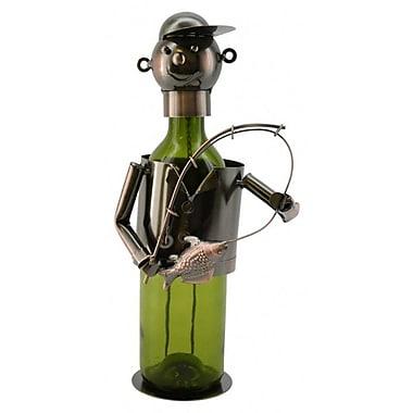 Three Star Fisherman 1 Bottle Tabletop Wine Rack