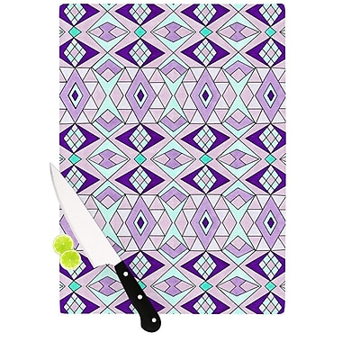 KESS InHouse Geometric Flow by Pom Graphic Design Geometric Cutting Board