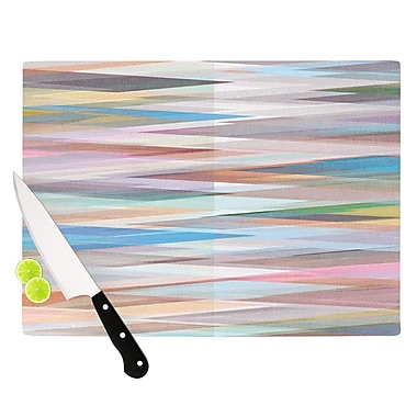 KESS InHouse Nordic Combination II by Mareike Boehmer Rainbow Abstract Cutting Board