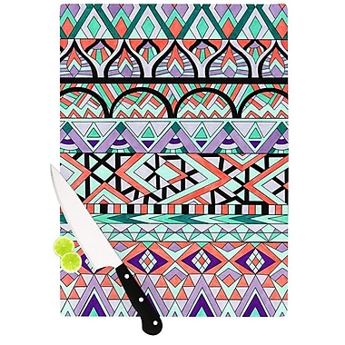 KESS InHouse Tribal Invasion by Pom Graphic Design Abstract Cutting Board