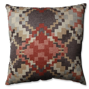 Pillow Perfect Cabin Fever Heather Cotton Throw Pillow; 16.5''
