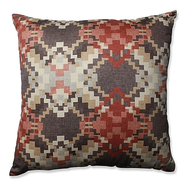 Pillow Perfect Cabin Fever Heather Cotton Throw Pillow; 24.5''