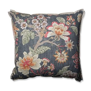 Pillow Perfect Room w/ A View Haze Cotton Throw Pillow; 24.5''