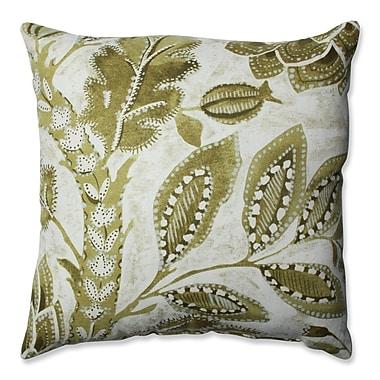 Pillow Perfect Java Tree Moss Cotton Throw Pillow; 16.5''