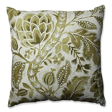 Pillow Perfect Java Tree Moss Cotton Throw Pillow; 24.5''