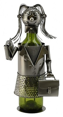Wine Bodies Business Lady 1 Bottle Tabletop Wine Rack