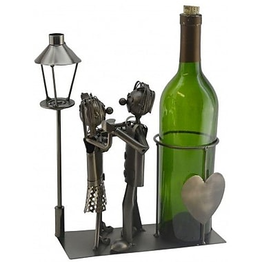 Three Star Lovers by Light Post 1 Bottle Tabletop Wine Rack