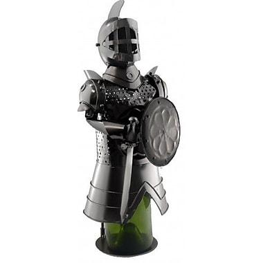Three Star Knight w/ Shield 1 Bottle Tabletop Wine Rack