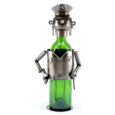 Wine Bodies Policeman 1 Bottle Tabletop Wine Rack