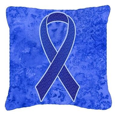 Caroline's Treasures Ribbon for Colon Cancer Awareness Indoor/Outdoor Throw Pillow