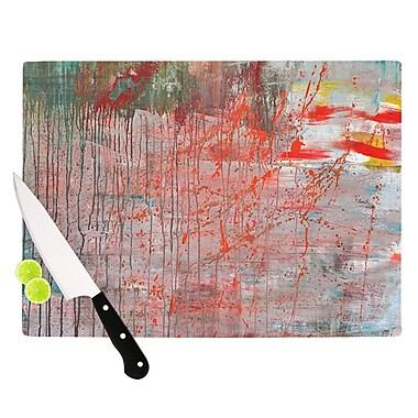 KESS InHouse Mots de La Terre by Iris Lehnhardt Splatter Paint Cutting Board