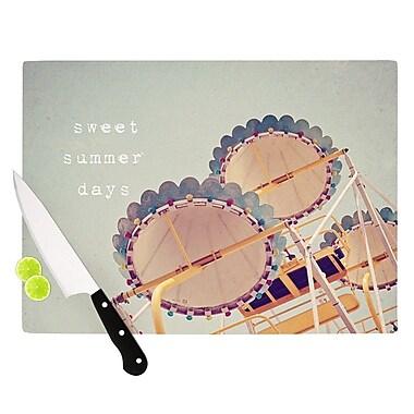 KESS InHouse Sweet Summer Days by Susannah Tucker Carnival Cutting Board