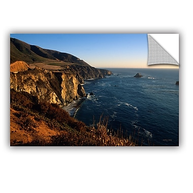 ArtWall ArtApeelz Golden Glow on Big Sur' by Kathy Yates Photographic Print on Canvas