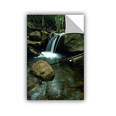 ArtWall ArtApeelz Waterfall in the Woods by Kathy Yates Photographic Print on Canvas