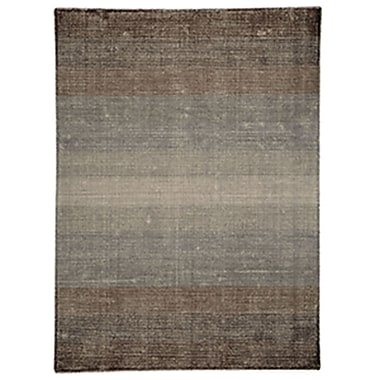 Ren-Wil Surface Waves Brown Area Rug; 7'9'' x 9'8''