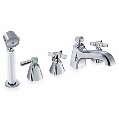 Toto Guinevere Five Hole Trim in Polished Chrome