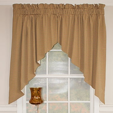 RLF Home Colburn Swagger 100'' Window Valance