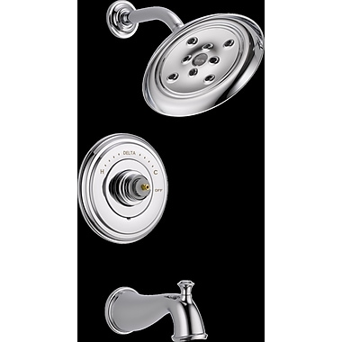 Delta Cassidy MultiChoice(R) 14 Series Tub and Shower Trim; Chrome