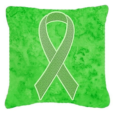 Caroline's Treasures Ribbon for Lymphoma Cancer Awareness Indoor/Outdoor Throw Pillow