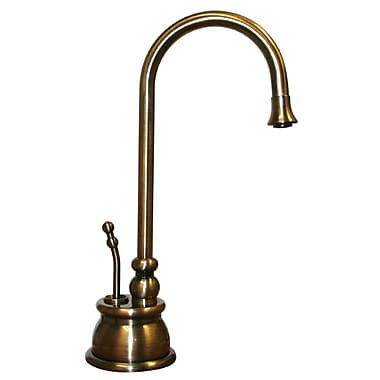 Whitehaus Collection Forever Hot Water Dispenser; Antique Brass