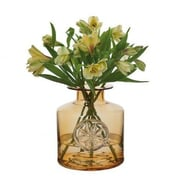 Dartington Clematis Flower Bottle Vase
