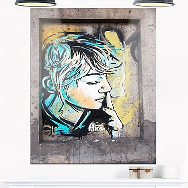 Street Art by C215 Street Metal Wall Art, 12x28, (MT6949-12-28)