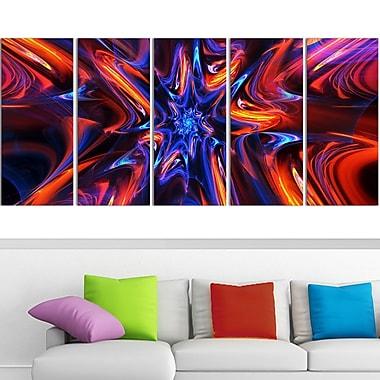 Starry Trance Metal Wall Art, 60x28, 5 Panels, (MT3033-401)