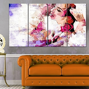 I Do Sensual Metal Wall Art, 48x28, 4 Panels, (MT2921-271)