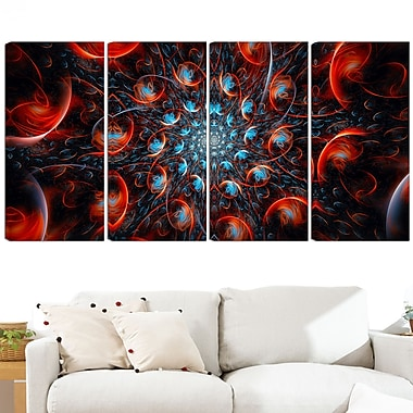 Rapid Expansion Metal Wall Art, 48x28, 4 Panels, (MT3037-271)
