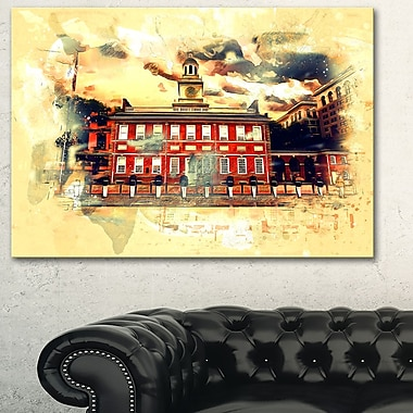 USA Landmark Metal Wall Art, 28x12, (MT2801-28-12)