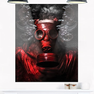 Nuclear Attack Contemporary Metal Wall Art, 12x28, (MT6361-12-28)