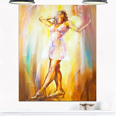 Beautiful Woman in Dress, portrait en métal, 12 x 28 (MT6336-12-28)