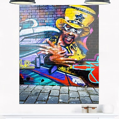 Melbourne Graffiti Art, Street Metal Wall Art, 12x28, (MT6934-12-28)
