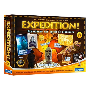 Expedition!: 5 Treasures from Around the World, Science Kit