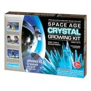Space Age Crystals: Fais pousser 6 cristaux,aigue-marine et quartz, trousse de science