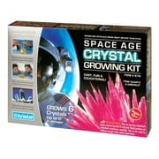 Space Age Crystals: Grow 6 Crystals, quartz rose et émeraude, trousse de science