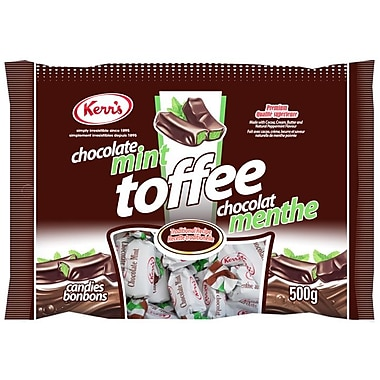 Kerr's Chocolate Mint Toffee, 500g