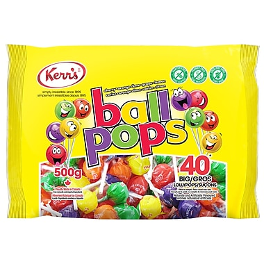 Kerr's - Sucettes Ball Pops, 500 g
