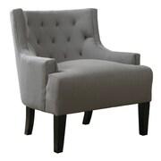 A&J Homes Studio Bahman Lounge Chair; Grey