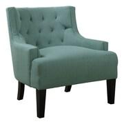 A&J Homes Studio Bahman Lounge Chair; Light Blue