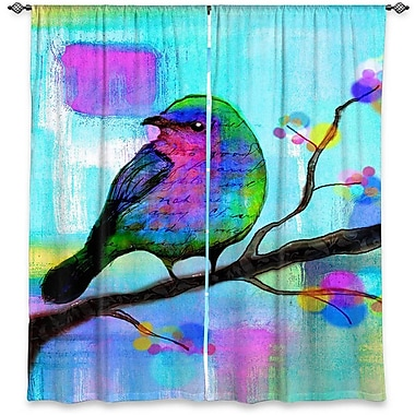 DiaNocheDesigns Curtain Panels (Set of 2); 40'' W x 61'' L