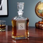Home Wet Bar Argos Personalized Block Liquor 23 oz. Decanter; D