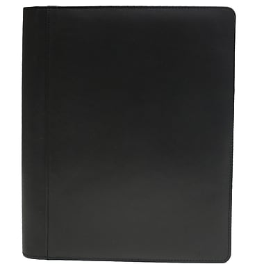 Ashlin® RAFERTY Bifold Writing Case with Notepad, Black